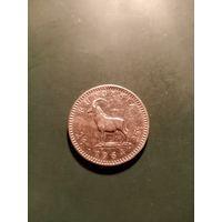 25 центов,1964г,Родезия.