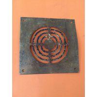 Вентиляционная решетка для пола Латунь