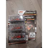 Formula 1 Auto Collection номер 5 - Ferrari SF15-T Себастьян Феттель (2015)