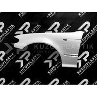 Крыло переднее левое для бмв 3 Е46 COUPE 1998-2003 (высшее качество пластика, без подгонок)