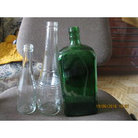 Бутылки для коллекции пустые