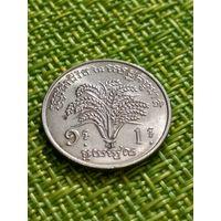 Камбоджа 1 риель 1970 г ФАО