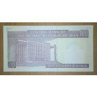 100 риалов Иран - пресс