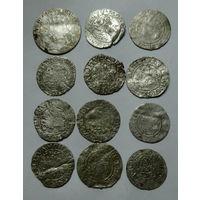 Лот монет ВКЛ. Из старой коллекции. С 1 рубля
