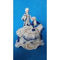 Дама и Кавалер  *-cdc- Rococo Collection  *1970-90-е годы -14.5см-  *-идеальное состояние-