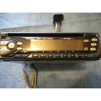 Автомагнитола дисковая JVC KD-S550, оригинал, 40Wх4, рабочая. Торг.
