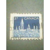 Канада. Стандарт. 1988г. гашеная