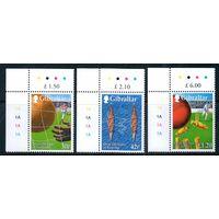 Спорт Гибралтар 1999 год серия из 3-х марок
