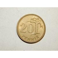 Финляндия 20 пенни 1977