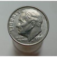 10 центов 1998 США (1 дайм) P