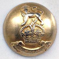 Финансовый Корпус Британской Армии. Корона королевы Елизаветы 22 мм