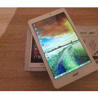 "Acer Iconia Tab 8W W1-810-11ML 8.0"" IPS (1280x800), Windows 8, ОЗУ 1 ГБ, флэш-память 32 ГБ, 4 ядра, 1,33 Ггц, батарея 4600, отличное состояние, на экране пленка, цвет белый, комплект в коробке.  Наход"