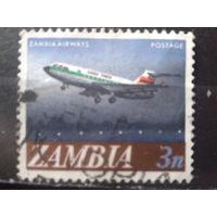 Замбия 1968 Стандарт, самолет