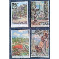 Набор рисунков с почтовых  конвертов для  сигаллатистов. 8 штук. Цена за все.