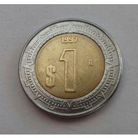 1 песо, Мексика 1997 г.