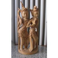 Фигурка  статуэтка  дерево