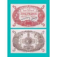 [КОПИЯ] Реюньон 5 франков 1912-44 г.г.