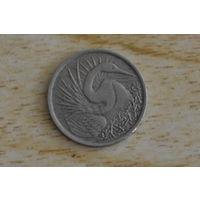 Сингапур 5 центов 1967
