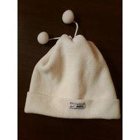 Тепленькая двойная шапочка,53-55 см.
