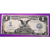 1 доллар 1899
