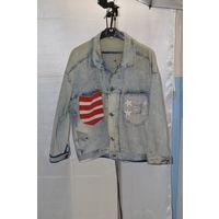 Фирменная джинсовка из Италии. Покупалась под джинсы-см.фото.