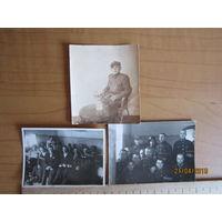 Небольшие фото военных