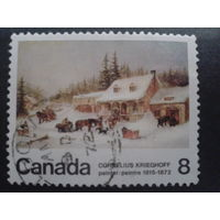 Канада 1972 живопись