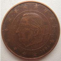 Бельгия 5 евроцентов 2006 г.