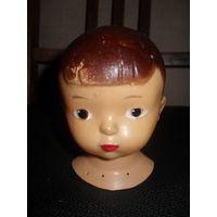 Голова куклы (бюст),целлулоид.ОХК.