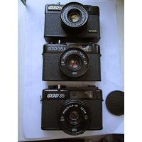 Фотоаппараты фэд 35   35а 50