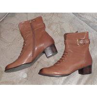 Ботинки деми, натуральная кожа, 37 р-р