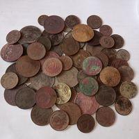70 монет СССР.