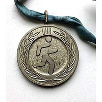 Серебряная медаль детско-юношеской спартакиады. Латвия  д - 5 см
