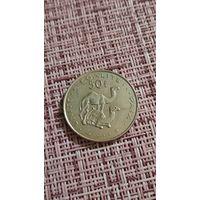Джибути 50 франков 1999 г ( Корабль пустыни Верблюд , тираж 501.8 тыс )