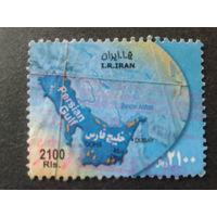 Иран 2007 карта, большой номинал
