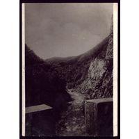 1935 год Сочи Дорога в ущелье