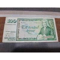 Исландия 100 крон 1961