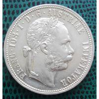 1 флорин, Австро-Венгрия,1878