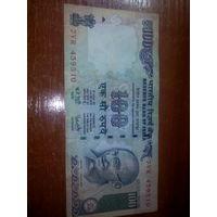 100 рупий Индия