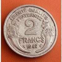 101-21 Франция, 2 франка 1947 г.