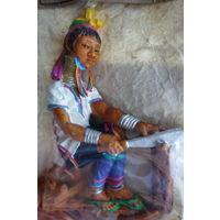 Магнит магнитик для коллекционера племя Карен