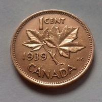 1 цент, Канада 1939 г.