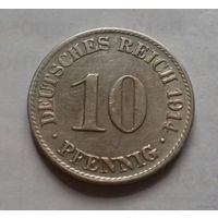 10 пфеннигов, Германия 1914 A