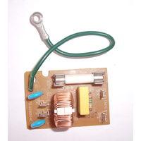 Фильтр сетевой встраиваемый 220 вольт 10 ампер.