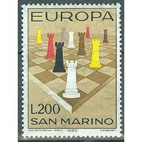 Сан - Марино 1965 Michel 842 (CV 0,5 eur) MNH Европа СЕПТ СЕРТ Шахматы **