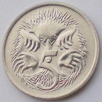 Австралия, 5 центов 1984 года, Елизавета II/ Ехидна, UNC