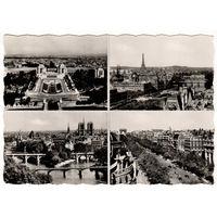 Париж. - Виды Парижа. 1958.