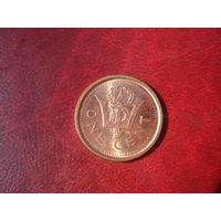 1 цент 2009 год Барбадос