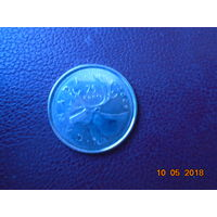 Канада 25 центов 2009