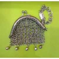 Кошелек средневековый кольчужного плетения
